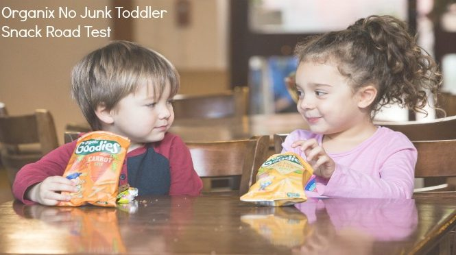 Organix No Junk Toddler Snack Road Test