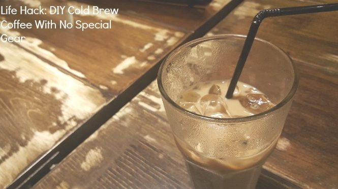 diy cold brew coffee easiest ever bold brew coffee easy
