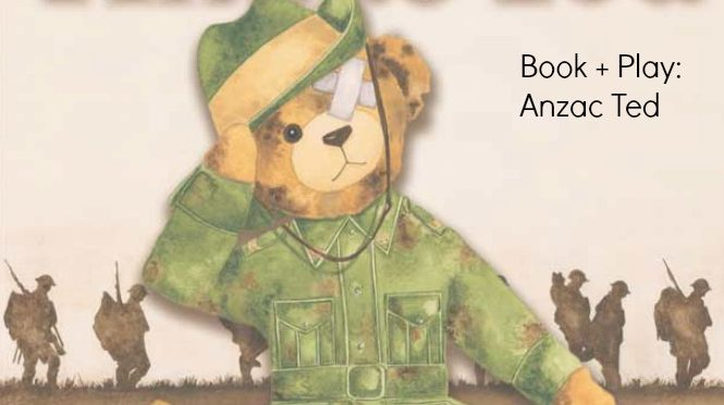 ANZAC Ted Belinda Lansberry ANZAC Day Craft Patty Pan Poppies Cupcake Liner Poppies ANZAC Day Picture Book ANZAC Day Toddler