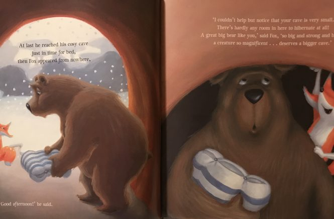 book and play the very sleepy bear nick bland bear toast
